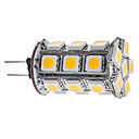 G4 3W 24x5050SMD 260-290LM 3000-3500K Warm Wit Licht LED Corn Bulb (12V)