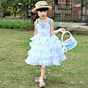 Lovely Sleeveless Polyester Wedding/Evening Flower Girl Dress