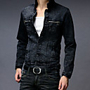 Men 's Long Sleeve Denim Outwear