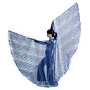 Performance Gradient Polyester Belly Dance Wing For Ladies More Colors