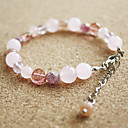 Women's Sweet Sakura Natural Stones Bracelet