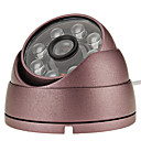 CMOS 600 TVL Cmara Domo con Lazer luz (IR-Cut filter)