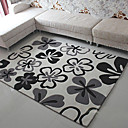 6.5' Abstract Floral Acrylic Bonded Rug