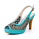 Fashion Chunky Heel Peep Toe Sandals Party / Evening Shoes(More Colors)