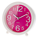"3.8"" Round Analog Desktop Alarm Clock (Random Color, 1xAA)"