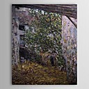 Famous Oil Painting Farmyard by Claude Monet