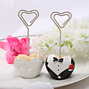 Tuxedo and Gown Placecard Holder