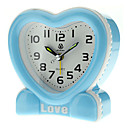 "2.7 ""Love Heart Analog Desktop Alarm Clock (colore casuale, 1xAA)"