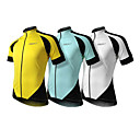 SPAKCT 100% Polyester Professional Breathable Short Sleeve Bicycle Jersey for Men(3 Colors)