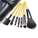 7Pcs High Quality Makeup Brush Set with Free Leather Case