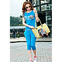 Women's Print Splicing Sweat Suit