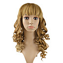 Full Lace 100% Human Hair 20&quot; Curly Hair Wigs