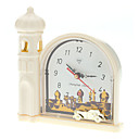 "3"" Desert Landscape Style Mechanical Analog Desktop Alarm Clock (Beige)"
