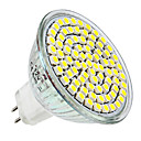 MR16 3.5W 80x3528SMD 300LM 6000-6500K Natural White Light LED Spot Bulb (12V)