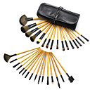 32Pcs Top Wood  Makeup Brush