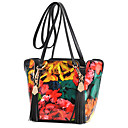 Colorful Floral Print Tote