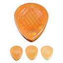 Kavaborg - Amber Large Tear Drop Shape Guitar Picks/Bass Picks/4-Pack