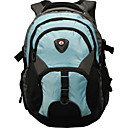 MONKKING Black/Dark Gray/Light Blue Casual Backpack