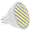 MR16 4W 60x3528 SMD 300-320LM 6000-6500K Natural White Light Bulb Spot LED (12V)