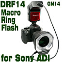 Emoblitz DRF14S Autofocus TTL Digital Macro Ring Flash  for Sony ADI/TTL A900 A700 A55