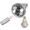 Bulb CCTV Security DVR Camera with Remote Control Light