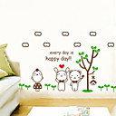 Every Day is Happy Day Wall Sticker