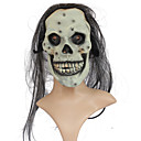 Jack In The Box Smile Skull Rubber Halloween Mask