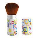Fashion Multicolor Cube Print Make-up Blush Brush