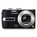 Panasonic Lumix DMC-TZ2 Digital Camera (nero) + omaggio (2GB SD card + pi)-spedizione gratuita